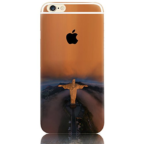 """Sunroyal® Coque Etui Transparente iPhone 6 Plus/6S Plus (5.5"""") Neuf Mince Ultra Fine Housse TPU Silicone Flex Case Cover Soft Gel Cas pour Apple 6 Plus/6S Plus 5.5 pouces 16/64/128 Go (Wifi/3G/4G/LTE) Pattern 00"""