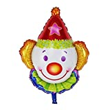 CULER Decorazioni Pagliaccio Foil Palloncini Bambini Classic Giocattoli gonfiabili Palloncino a Elio Compleanno Air Balloon Partito Palloncini Eventi