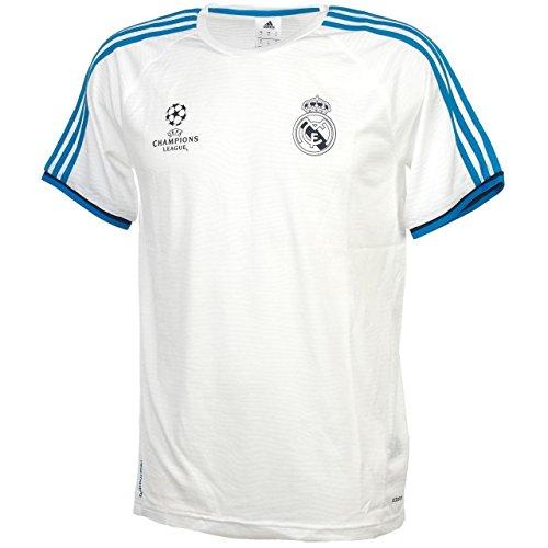 Adidas-Maglia Team Real Madrid EU Maglietta da allenamento, Uomo, Teamtrikot