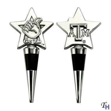 Arthur Court Designs Texas A&M Bottle Stopper
