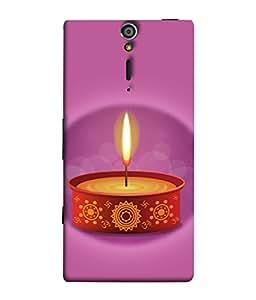 PrintVisa Designer Back Case Cover for Sony Xperia SL :: Sony Xperia S :: Sony Xperia SL LT26I LT26ii (Ram Rama Ganesh Ganapati Krishna Srikrishna Kisna Kanayya Kanaiyah Mohana)