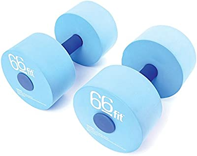 66fit Aqua - Mancuernas para piscina (2 unidades)
