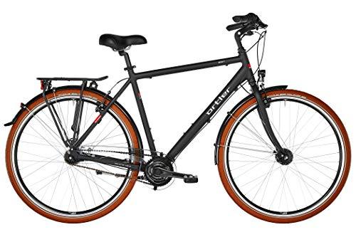 ORTLER Monet Herren schwarz matt Rahmenhöhe 60cm 2019 Cityrad
