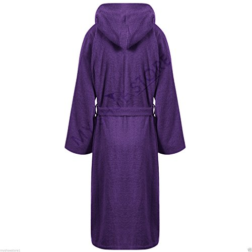 100% LUXURY EGYPTIAN COTTON SUPER SOFT TOWELLING BATH ROBE DRESSING GOWN TERRY TOWEL BATHROBES - 41IRKYpHmVL - 100% LUXURY EGYPTIAN COTTON SUPER SOFT TOWELLING BATH ROBE DRESSING GOWN TERRY TOWEL BATHROBES