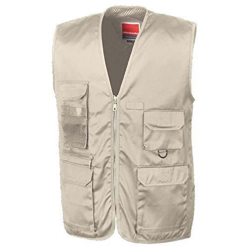 Result Gilet de safari Marron - Camel