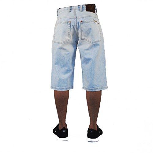 Viazoni Jeans Short Ice Blue Hellblau