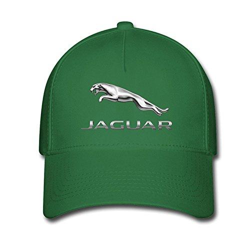 Hittings Unisex Jaguar Logo Baseball Caps Hat One Size Green
