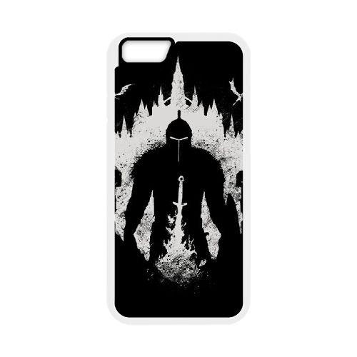 Dark Souls coque iPhone 6 Plus 5.5 Inch Housse Blanc téléphone portable couverture de cas coque EBDXJKNBO15609