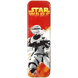 Promobo - Boite A Crayon Plumier Disney Star Wars Startroopers Rouge