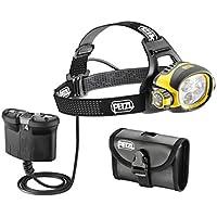 Petzl ULTRA VARIO BELT - Linterna (Headband flashlight, LED, Negro, Amarillo, IP67, Ión de litio)