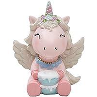AOLVO Adorable decoración para Tartas de Unicornio para Tartas de cumpleaños, Tartas de Vacaciones,