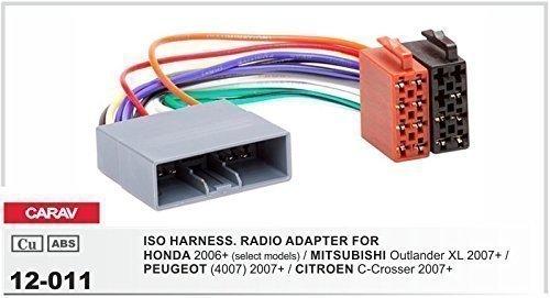 Façade Radio Set pour peugeot 407 citroen c5 Panneau Adaptateur Câble Autoradio