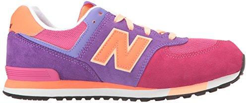 072032e4fed92c New Balance UnisexKinder Kl574wjp M Sneakers pink   violett ...