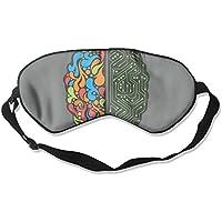 Eye Mask Eyeshade Color Brain Design Sleep Mask Blindfold Eyepatch Adjustable Head Strap preisvergleich bei billige-tabletten.eu