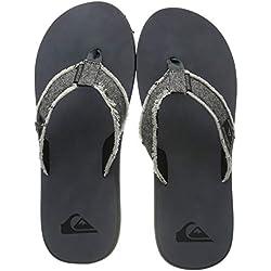 Quiksilver Monkey Abyss, Zapatos de Playa y Piscina para Hombre, Gris Black/Grey Xsks, 41 EU