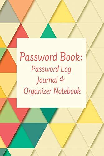Password Book: Password Log Journal & Organizer Notebook Laptop-sicherheits-software