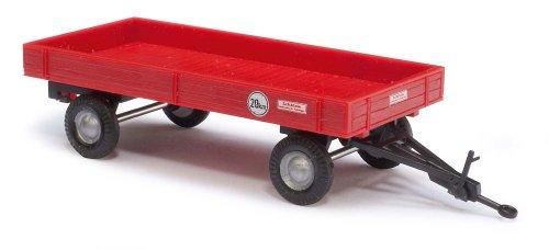 Busch 44977 - Landwirtschaftlicher Anhänger, rot