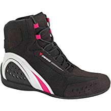 Dainese Flechas Zapatos Motor Shoe Air Lady JB 39 Black/White/Fuchsia