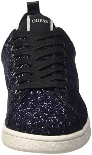 Guess Rania, Chaussures de Gymnastique Femme Bleu (Navy)