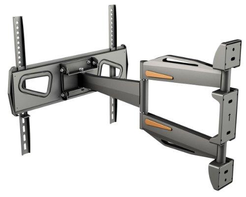 RICOO Fernsehhalterung S0944 Wandhalterung TV Schwenkbar Neigbar Halterung Wandhalter LED LCD Flachbild-Fernseher 76-140cm/30-42-50-55 Zoll - 5