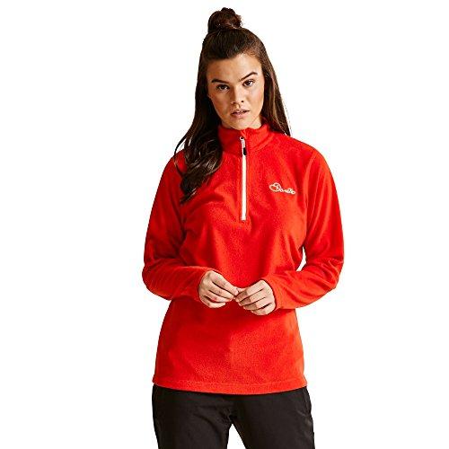 Dare 2b Womens/Ladies Freeze Dry II Lightweight Quarter Zip Fleece -