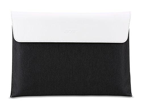 Acer Tablet Tasche / Protective Sleeve (geeignet für alle 10 Zoll Acer Tablets und 2-in-1s) schwarz/weiß (Acer 15 Zoll Tablet)