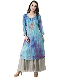 Katyal's Couture Women's Cotton Kurta