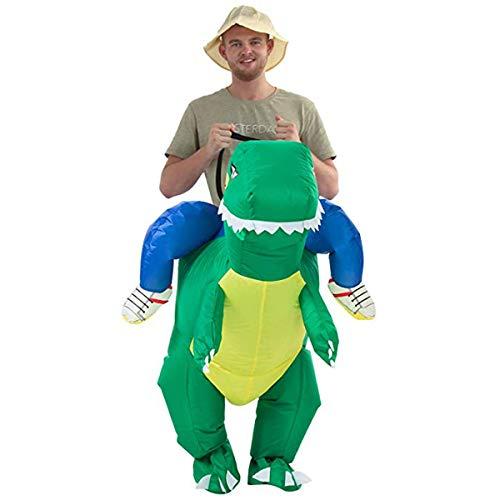 Disfraz Inflable Dinosaurio niños Adultos Traje Inflable