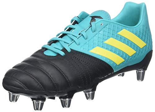 adidas Kakari Elite (SG), Scarpe da Rugby Uomo, Nero (Negbás/Amasho/Agalre 000), 42 EU