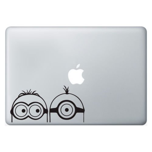Pegatinas, diseño de Minions portátil Apple MacBook
