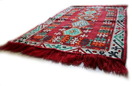 Damaskunst 110x70 cm Orientalischer Teppich, Kelim,Kilim,Carpet,Bodenmatte,Bodenbelag,Rug,Wandteppich, Neu S 1-2-3 - Kelim Teppiche Teppiche