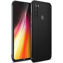 BENNALD Case for Xiaomi Redmi Note 8 Case, Thin Ultra-Slim Fit Matte Finish Flexible TPU Phone Case Cover Compatible for Xiaomi Redmi Note 8 - Black