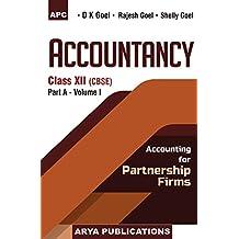 Accountancy Class- XII (Part-A) - Vol. I