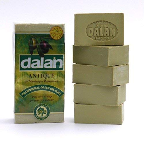 5 X 180g Barre Naturel 100% Pure Huile D 'ol Ive Savon Dalan Turkish Bain Fait Main Dinde