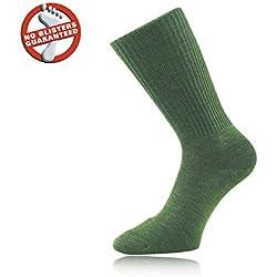 1000 Mile Combate calcetín verde L