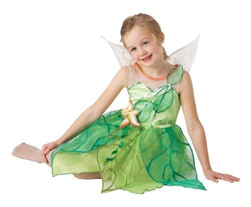 Disney Fairies Tinkerbell Costume (Large, 7-8 years) by ToyMarket (Tinkerbell Kostüm 7 8)