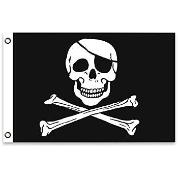 Drapeau//drapeau pirate république Hissflagge 90 x 150 CM