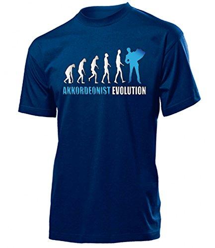 AKKORDEONIST EVOLUTION 4587(H-N-Weiss-Blau) Gr. L