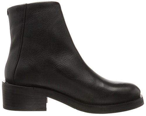 Royal Republiq District Zip Boot, Bottines Femme Schwarz (Black)