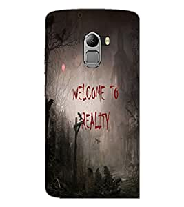 PrintDhaba Quote D-3188 Back Case Cover for LENOVO K4 NOTE A7010 (Multi-Coloured)