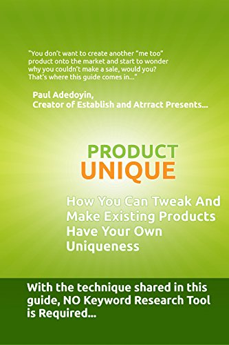 product-unique-english-edition