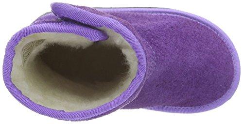 Pololo Pololo Nevada, Bottes mi-hauteur avec doublure chaude fille Violet - Violett (lilac 522)
