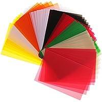 Homyl 50 Blatt Transparentpapier Faltblätter zum Basteln für dekorieren