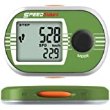 WCI Quality Exercise Data Monitor With Chronograph Stopwatch - Measures Steps, Speed, Distance, Time, Fat And Calories Burned - For Running, Jogging and Walking - 7-Day Data Memory Function