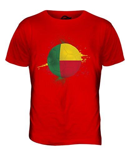 CandyMix Benin Fußball Herren T Shirt Rot