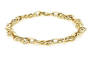 Carissima Gold 9 ct Yellow Gold Celtic Bracelet of Length 19 cm/7.5 inch