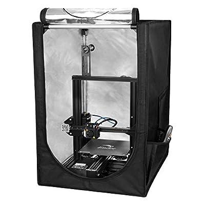"""Creality 3D Drucker Konstante Temperatur Schalldicht Staubdicht Schutzhülle für Ender 3 Ender 3 Pro Ender 5 (17,5""""x 22,2"""" x 27"""")"""