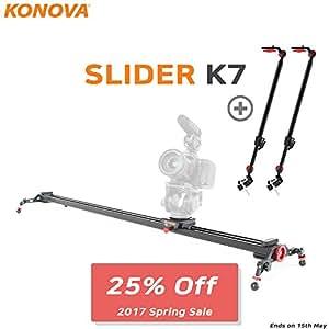Konova Dolly Stabilisateur pour appareil photo et K7 100 cm (39,4 cm) Prend en charge les systèmes de caméras de télédiffusion ENG comme appareil photo