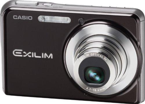 Casio Exilim Zoom (Casio EXILIM EX-S880 BK Digitalkamera (8 Megapixel, 3-fach opt. Zoom, 7,1 cm (2,8 Zoll) Display) schwarz)