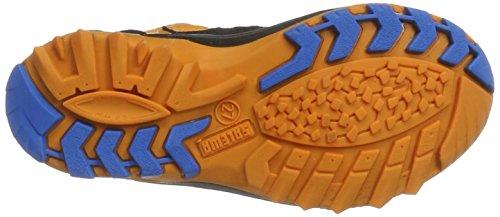 SALEWA Kinder Wildfire Waterproof Halbschuh, Scarpe da Escursionismo Unisex – Bambini Multicolore (Arancio/davos)